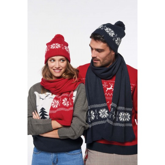 Gorro tricotado, motivo estrela K-up®