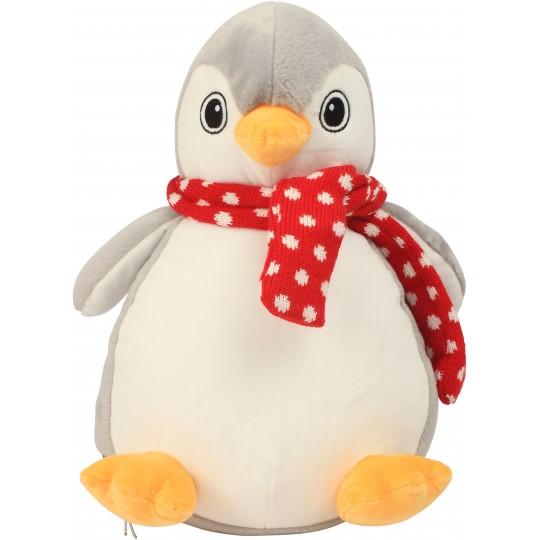 Pinguim de peluche com fecho Mumbles®