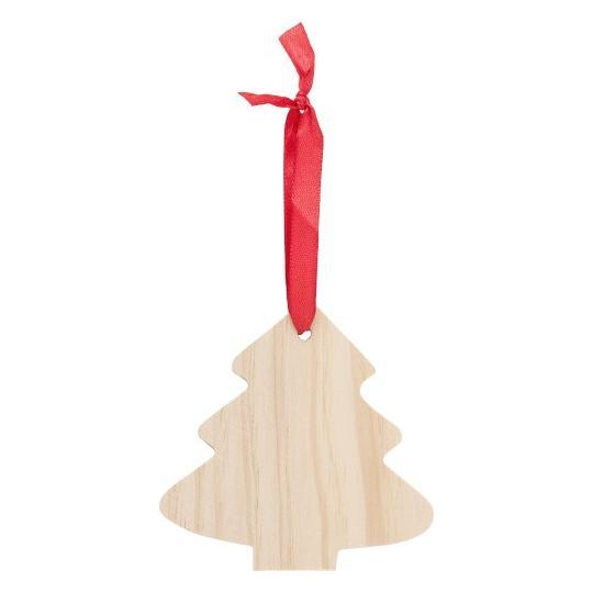 Pinheiro ornamental em madeira de Natal