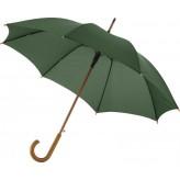 """Guarda-chuva automático com haste e pega em madeira de 23"""" Kyle"""
