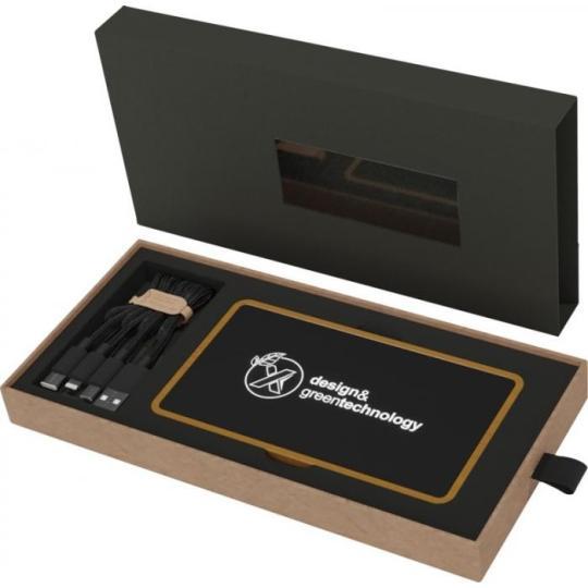 Powerbank de madeira de 5.000 mAh P35 SCX.design®