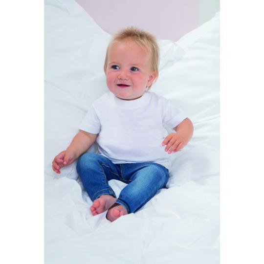 T-shirt algodão biológico Larkwood®