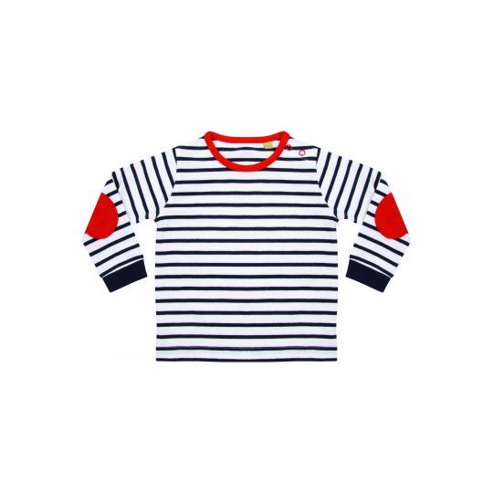T-shirt de manga comprida às riscas Larkwood®