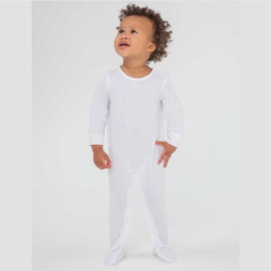 Pijama de manga comprida de algodão biológico Larkwood®