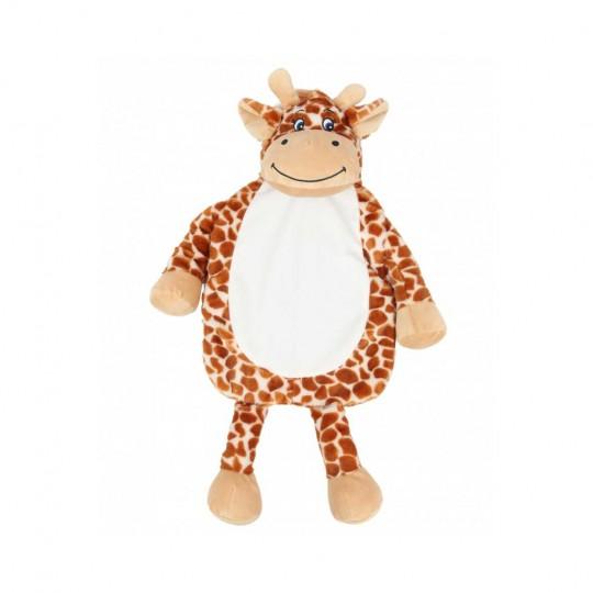 Capa para saco de água quente Girafa