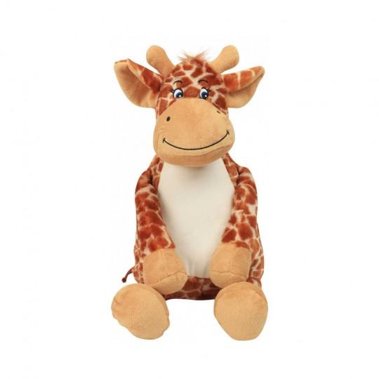 Girafa de peluche com fecho Mumbles®
