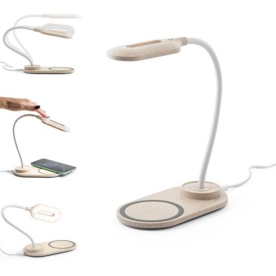 Candeeiro de mesa com carregador wireless (Fast, 10W) Ozzel