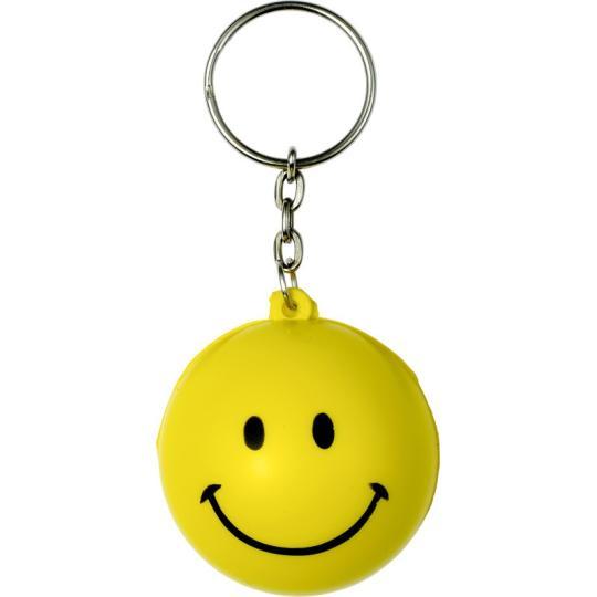 Porta-chaves anti-stress em forma smile