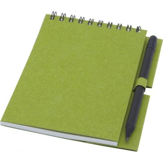 Caderno de argolas com lápis - pequeno Luciano Eco