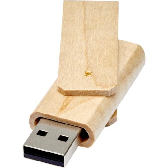 USB em madeira Rotate