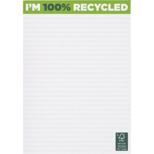 Blocos de notas A5 reciclado Desk-Mate® 25 folhas