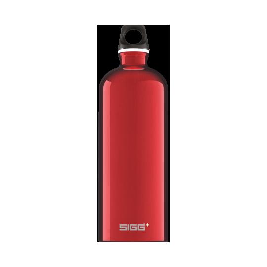 Garrafa de Água Traveller Red 1l Sigg®