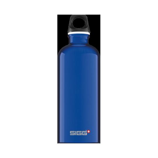 Garrafa de Água Viajante Azul Escuro 0,6L Sigg®