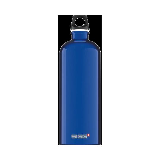 Garrafa de Água Azul Escuro Viajante 1l Sigg®