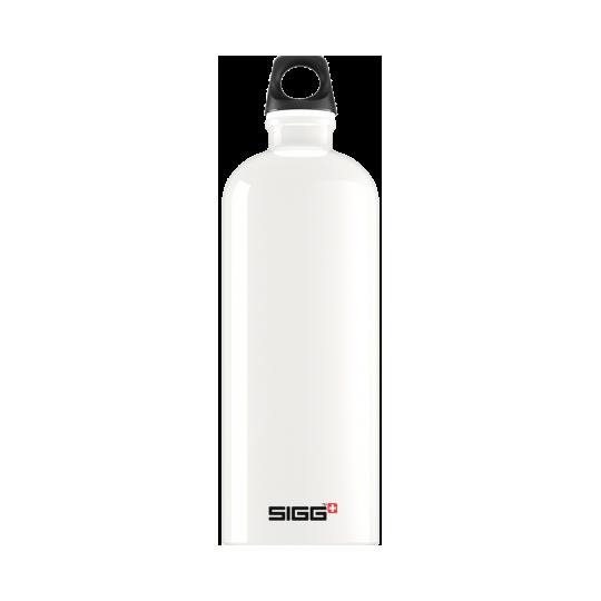Garrafa de Água Branco Viajante 1l Sigg®
