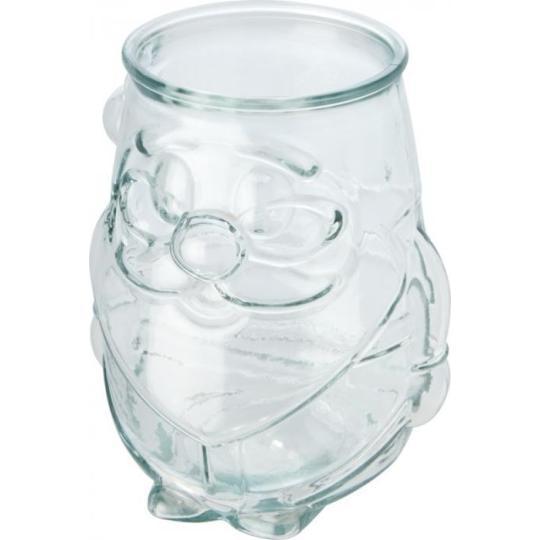 Suporte de vela tealight de vidro reciclado Nouel