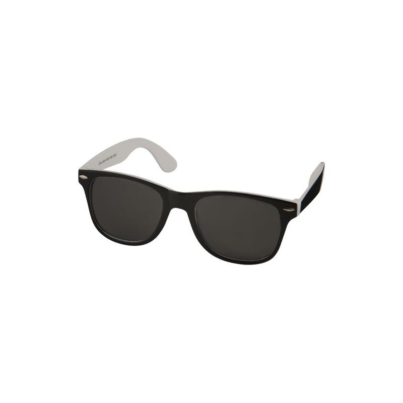 "Óculos de sol ""Sun Ray"" - pretos com detalhes coloridos"
