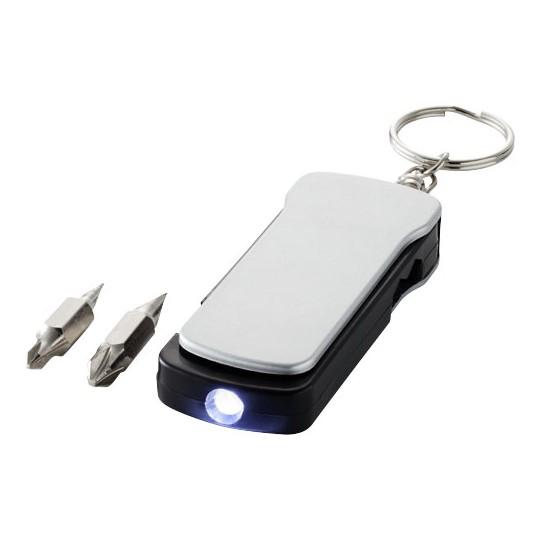 "Porta-chaves lanterna 6 funções ""Maxx"""