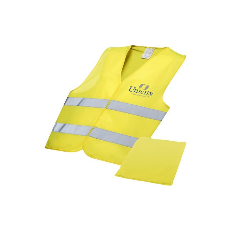 Colete de segurança em bolsa para uso profissional Watch-out