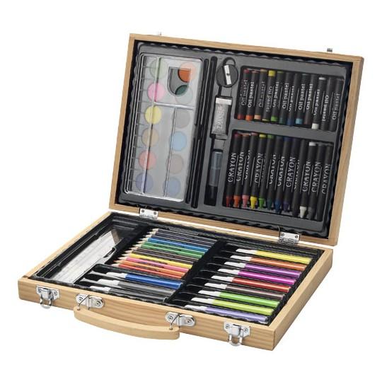 Conjunto para colorir de 67 peças Rainbow