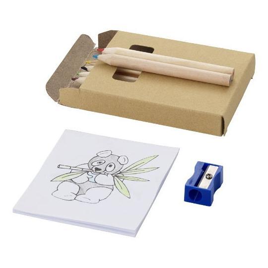 Conjunto de lápis de cor de 8 peças