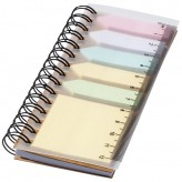 "Bloco de notas com notas adesivas coloridas ""Spiral"""