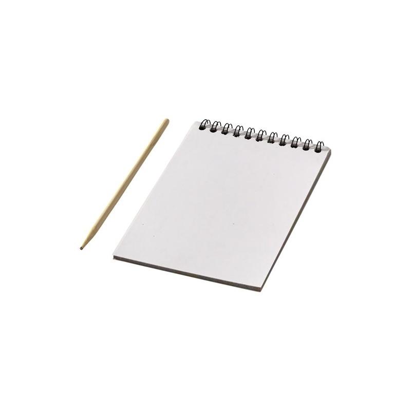 """Caderno de rabiscos colorido com caneta """"Waynon"""""""