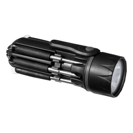 """Chave de parafusos 8 em 1 com lanterna """"Spidey"""" Stac"""