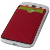 Porta-cartões RFID dois bolsos para telemóvel Eye