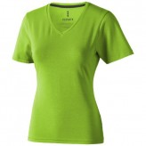 Tshirt de manga curta de material orgânico Kawartha de mulher