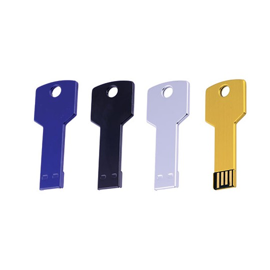 Memória USB 4GB formato de chave