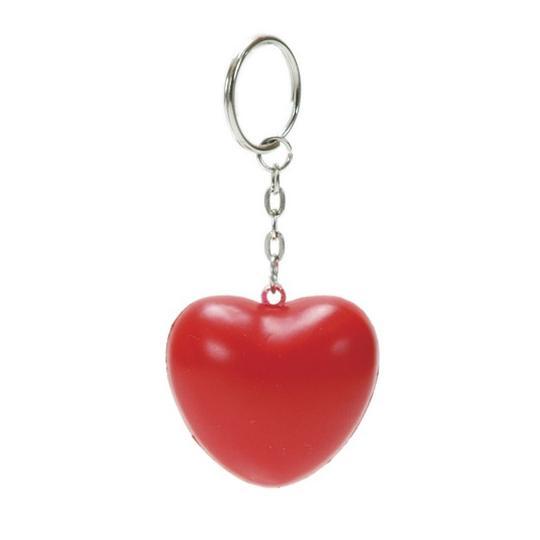 Porta-chaves coração anti-stress Denny