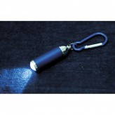 Porta-chaves de metal com luz 1 LED