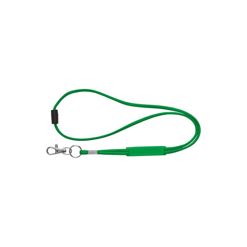 Lanyard tubular em poliéste com ajustável em PVC