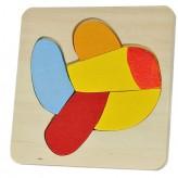 Puzzle de madeira avião