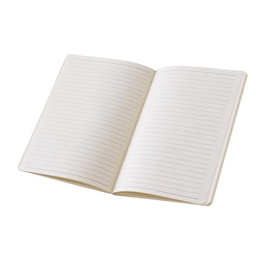 Bloco de notas A5, capa em cartão e bolsa