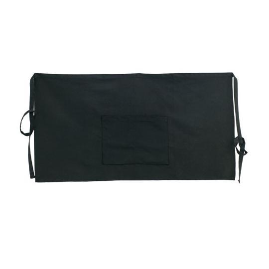 Avental de bar com 2 bolsos 100% algodão