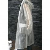 Impermeável de chuva de tamanho único, em PVC 15mm