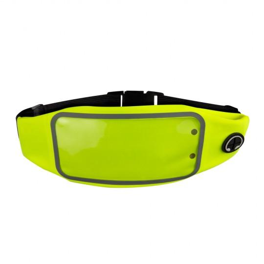 Bolsa de cintura para telemóvel com 2 compartimentos