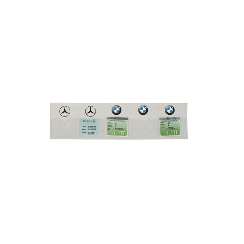 Bolsa autocolante para viaturas (tira de 5 unidades)
