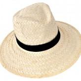 Chapéu para homem de palha clara