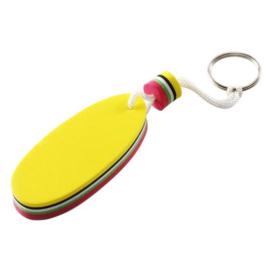 Porta-chaves flutuante de borracha