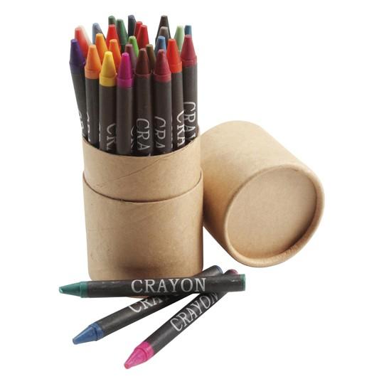 Conjunto de 30 lápis de cera
