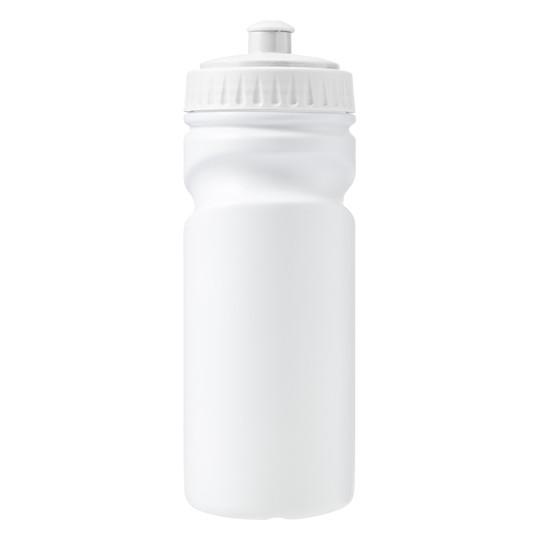 Garrafa 500ml de plástico 100% reciclável (HDPE)