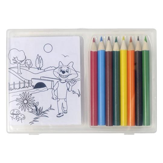 Conjunto de 8 lápis