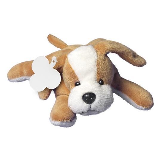 Cão de peluche
