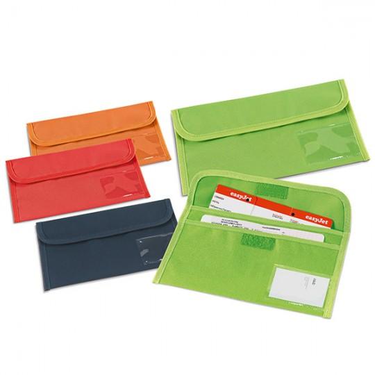 Bolsa porta-documentos de viagem
