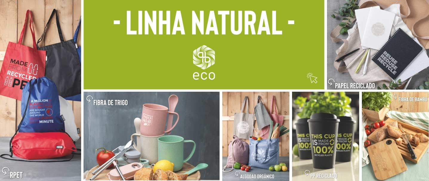 eco pb linha natural brindes publicitarios